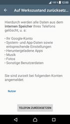 Sony Xperia XA1 - Fehlerbehebung - Handy zurücksetzen - 8 / 11
