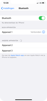 Apple iPhone X - iOS 13 - Bluetooth - koppelen met ander apparaat - Stap 8