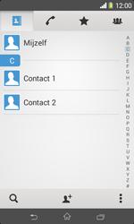 Sony D2005 Xperia E1 - Contactgegevens overzetten - delen via Bluetooth - Stap 4