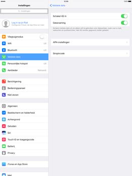 Apple iPad Pro 12.9 inch (2nd generation) - Buitenland - Internet in het buitenland - Stap 7