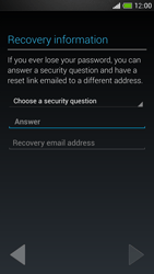 HTC One Mini - Applications - Setting up the application store - Step 12