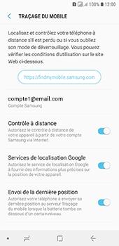 Samsung Galaxy A6 - Appareil - configurer Localiser mon appareil - Étape 10
