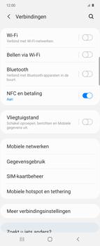 Samsung Galaxy Z Flip Single-SIM + eSIM (SM-F700F) - WiFi - Mobiele hotspot instellen - Stap 5