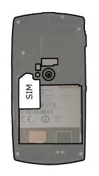 Sony Ericsson U5i Vivaz - SIM-Karte - Einlegen - 3 / 7