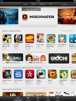 Apple iPad mini - Applicazioni - Configurazione del negozio applicazioni - Fase 4