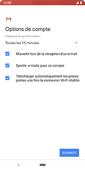 Google Pixel 3 - E-mail - 032b. Email wizard - Yahoo - Étape 11