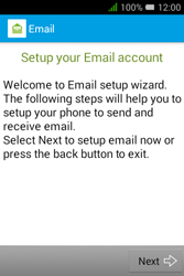 Alcatel Pixi 3 (3.5) - E-mail - manual configuration - Step 8