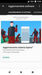 Sony Xperia XZ1 Compact - Software - Installazione degli aggiornamenti software - Fase 7