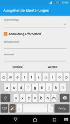 Sony E5603 Xperia M5 - E-Mail - Konto einrichten - Schritt 17