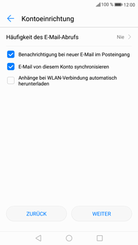 Huawei Mate 9 - E-Mail - Konto einrichten (outlook) - 1 / 1
