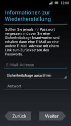 Sony Xperia U - Apps - Einrichten des App Stores - Schritt 8