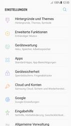 Samsung Galaxy A5 (2016) - Android Nougat - Apps - Eine App deinstallieren - Schritt 4