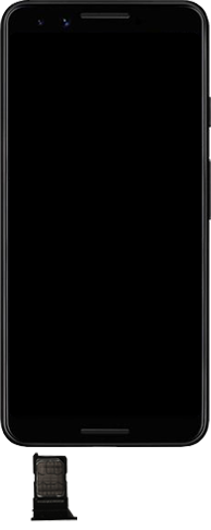 Google Pixel 3 - Premiers pas - Insérer la carte SIM - Étape 4
