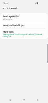 Samsung Galaxy S10 Plus - voicemail - handmatig instellen - stap 9