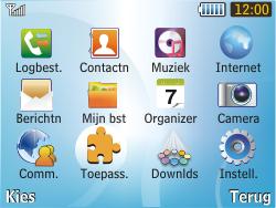 Samsung S3350 Chat 335 - bluetooth - aanzetten - stap 3