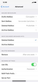 Apple iPhone XS - E-mail - Manual configuration - Step 25