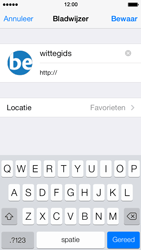 Apple iPhone 5 iOS 7 - Internet - internetten - Stap 14