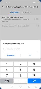 Huawei Nova 5T - Prise en main - Comment activer un code SIM - Étape 9