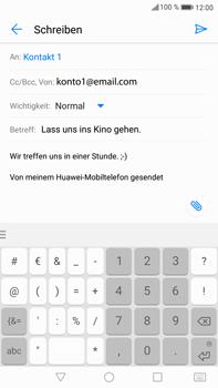 Huawei Mate 9 - E-Mail - E-Mail versenden - Schritt 10