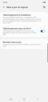 Samsung Galaxy Note 10 Plus 5G - Logiciels - Installation de mises à jour - Étape 5