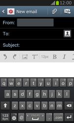 Samsung S7710 Galaxy Xcover 2 - E-mail - Sending emails - Step 5