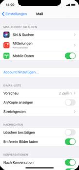 Apple iPhone X - iOS 14 - E-Mail - Manuelle Konfiguration - Schritt 4
