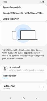 Samsung Galaxy A50 - WiFi - Comment activer un point d'accès WiFi - Étape 8
