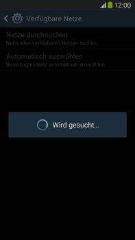Samsung Galaxy Note III LTE - Netzwerk - Manuelle Netzwerkwahl - Schritt 7
