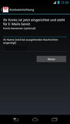 Motorola RAZR i - E-Mail - Konto einrichten - 0 / 0