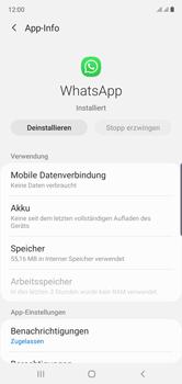 Samsung Galaxy Note 10 - Apps - Eine App deinstallieren - Schritt 6