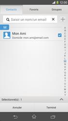 Sony D2303 Xperia M2 - E-mail - envoyer un e-mail - Étape 6