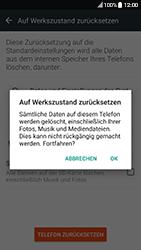 HTC 10 - Android Nougat - Fehlerbehebung - Handy zurücksetzen - Schritt 9