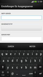 HTC Desire 601 - E-Mail - Konto einrichten - 2 / 2