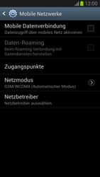 Samsung Galaxy Note II - Internet und Datenroaming - Manuelle Konfiguration - Schritt 6