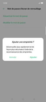 Oppo Find X2 Lite - Sécuriser votre mobile - Activer le code de verrouillage - Étape 10