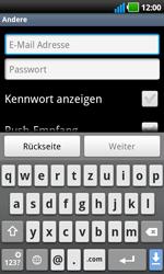 LG P970 Optimus Black - E-Mail - Konto einrichten - Schritt 6