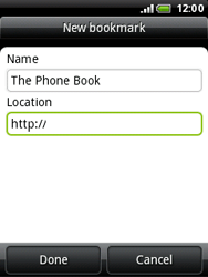 HTC A3333 Wildfire - Internet - Internet browsing - Step 9