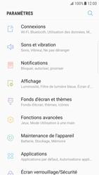 Samsung Galaxy S6 Edge - Android Nougat - Internet et roaming de données - Désactivation du roaming de données - Étape 4