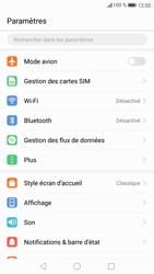 Huawei P9 Lite - Android Nougat - Réseau - Sélection manuelle du réseau - Étape 3