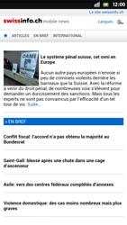 Sony Xperia S - Internet et roaming de données - Navigation sur Internet - Étape 12