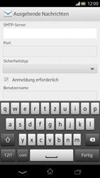 Sony Xperia V - E-Mail - Manuelle Konfiguration - Schritt 11