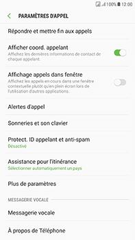 Samsung Galaxy J7 (2017) - Messagerie vocale - Configuration manuelle - Étape 6