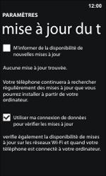 Nokia Lumia 800 / Lumia 900 - Logiciels - Installation de mises à jour - Étape 6