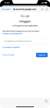 Apple iPhone XR - iOS 13 - E-mail - e-mail instellen (gmail) - Stap 7