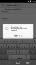 Huawei Ascend P7 - E-Mail - Konto einrichten - 2 / 2