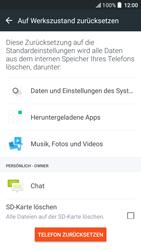 HTC One A9s - Fehlerbehebung - Handy zurücksetzen - 9 / 11