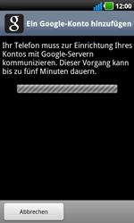 LG Optimus Black - Apps - Konto anlegen und einrichten - 16 / 19