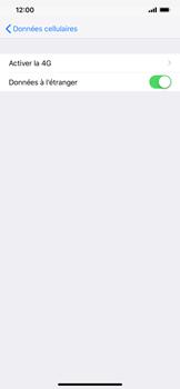 Apple iPhone XR - Internet - Désactiver du roaming de données - Étape 5