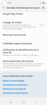 Samsung Galaxy A21s - Sécuriser votre mobile - Personnaliser le code PIN de votre carte SIM - Étape 5