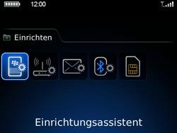 BlackBerry 9700 Bold - E-Mail - Konto einrichten - Schritt 4